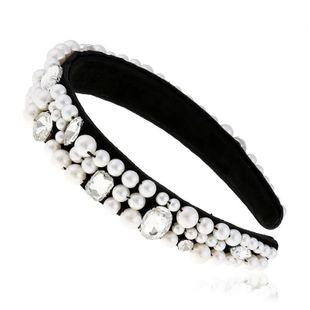Korean Hair Accessories Adult Pearl Headband Fashion Headband suppliers china NHVA202713's discount tags