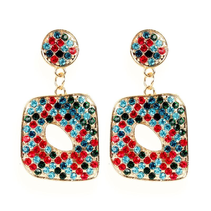 Fashion earrings creative geometric earrings female geometric earrings wholesale NHCT202814