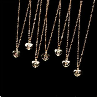 Women's 26-letter pendant clavicle chain wholesales yiwu suppliers china NHPY202878's discount tags