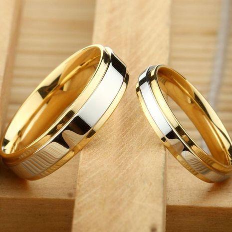Anillo de pareja anillo de acero de titanio para hombres y mujeres al por mayor NHIM202944's discount tags