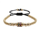 Jewellery for women Micro beaded zircon colorful bead bracelet wholesales yiwu suppliers china NHYL202950