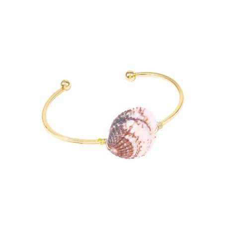 Shell Geometric C-Bangle Beach Vacation Wind Conch Bracelet Bracelet wholesals yiwu suppliers china NHMD202992's discount tags