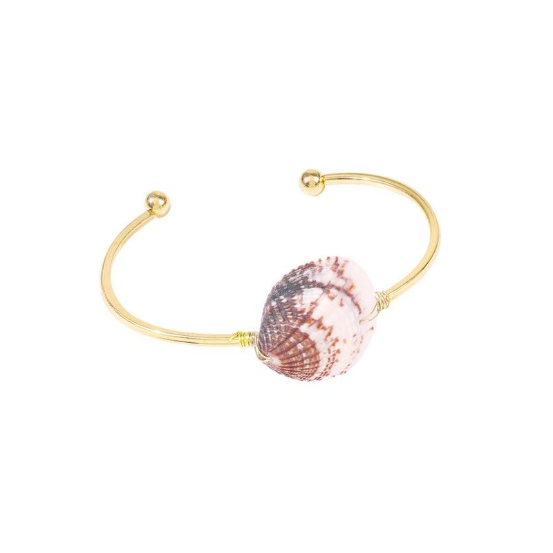 Shell Geometric C-Bangle Beach Vacation Wind Conch Bracelet Bracelet wholesals yiwu suppliers china NHMD202992