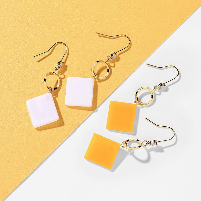 Women's new Korean elegant simple earrings NHPP203003