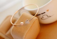 Full diamond heartshaped love bracelet opening goldplated bracelet double peach heart bracelet women wholesales yiwu NHDP203054