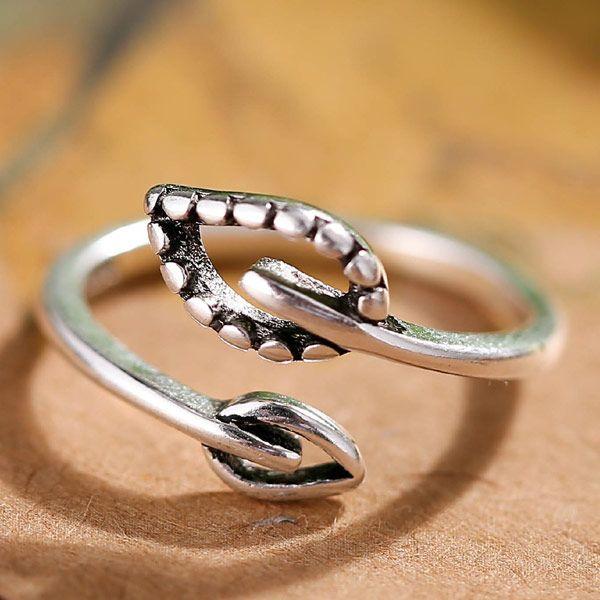 Fashion Metal Vintage Open Ring NHSC203750