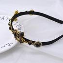New vintage hair accessory imitation pearl headband Queen praying girl NHNT203521