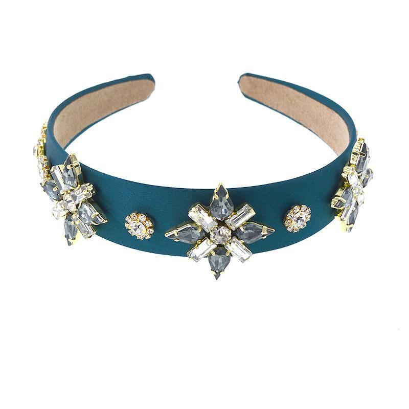 Baroque fashion pentagram headband bridal headband bridesmaid hair accessory simple wedding headband NHNT203524