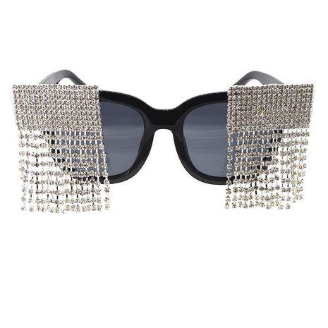 New sunglasses female round face sunglasses female diamond-proof UV-resistant glasses NHNT203538's discount tags