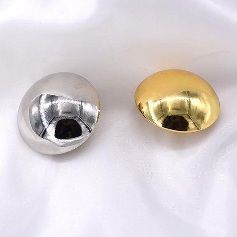 Nouveau style broche simple broche ronde rétro accessoires en gros NHNT203552's discount tags