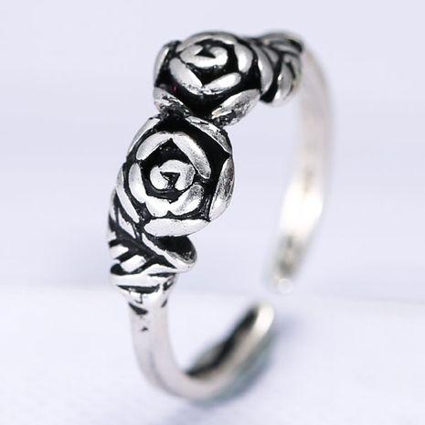 Bague fantaisie en métal imitation métal Thai silver ring ouvert NHSC203746's discount tags