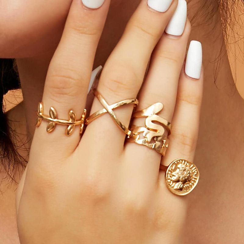 New fashion multi-element ring set wholesale NHXR203560