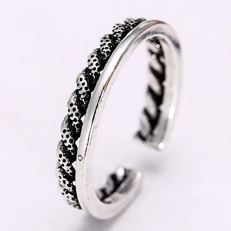 Jewellery for women Metal Imitation Thai Silver Individual Open Ring wholesales yiwu suppliers china NHSC203744's discount tags