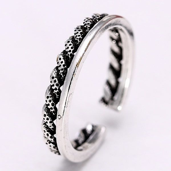 Jewellery for women Metal Imitation Thai Silver Individual Open Ring wholesales yiwu suppliers china NHSC203744