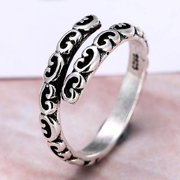Metal Imitation Thai Silver Open Ring wholesales yiwu suppliers china NHSC203742