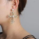 Cross Diamond Earrings cheap wholesales yiwu fashion suppliers china NHJJ203627