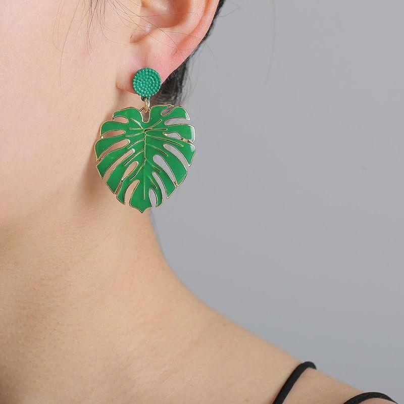 New Flower Earrings Alloy Grease Ear Jewelry Accessories 3 Colors NHJJ203630