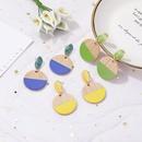 Earrings new geometric wooden earrings for women retro jewelry wholesales yiwu suppliers china NHJJ203632