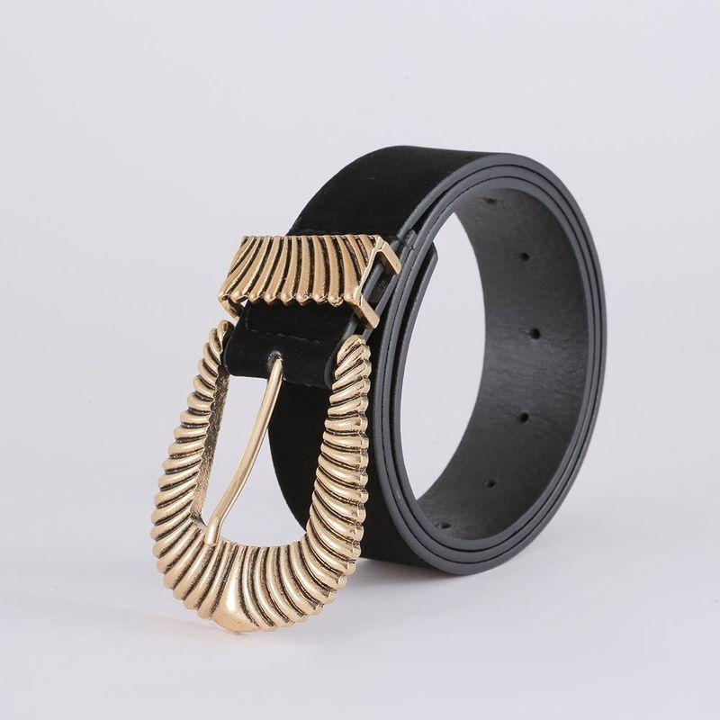 Korean fashion suede belt new exquisite creative diamond belt women NHJJ203642