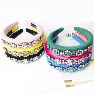 Nueva esponja de moda Diamond Prom Hair Hoop Women Gift Hair Accessories NHWJ203661's discount tags