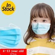 3 layer Disposable Elastic Mouth Soft Breathable Blue Soft Breathable Flu Hygiene Child Kids NHAT203779