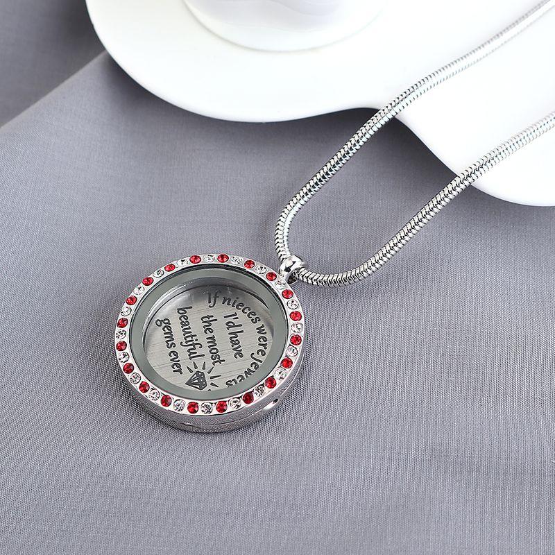 New Fashion Simple Life Tree Broken Diamond Necklace Wholesale NHPS203838