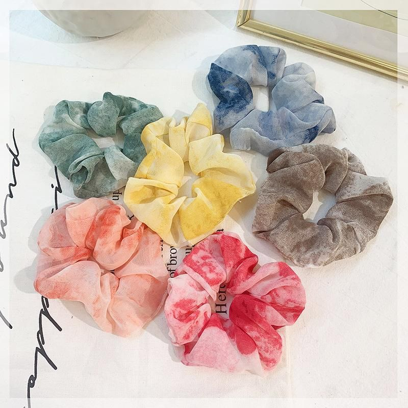 Spring new hair ring chiffon hair rope cheap hair accessories women wholesale NHOF203854