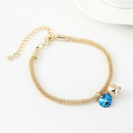 New Fashion Crystal Lantern Bracelet en gros NHSE203869's discount tags