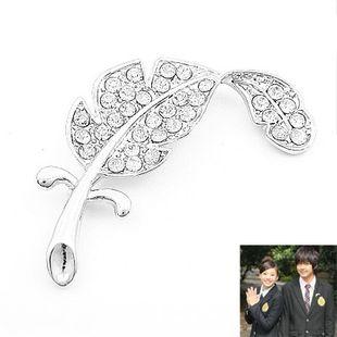 Korean fashion diamond brooch wholesale NHSC204347's discount tags
