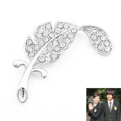 Korean fashion diamond brooch wholesale NHSC204347