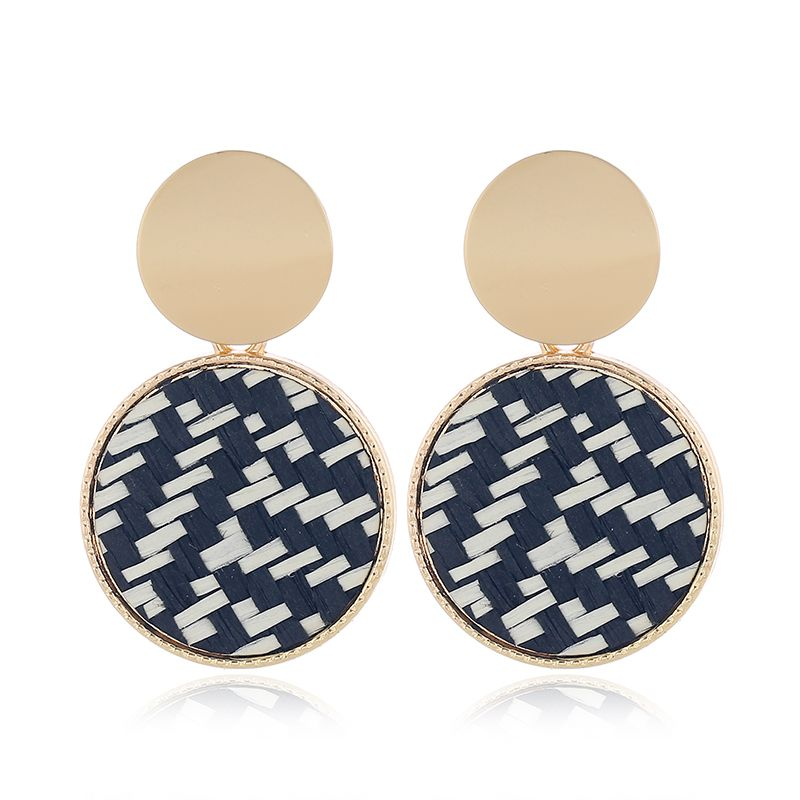 Yi wu jewelry new fashion trend simple and simple fashion earrings wholesale NHSC205755
