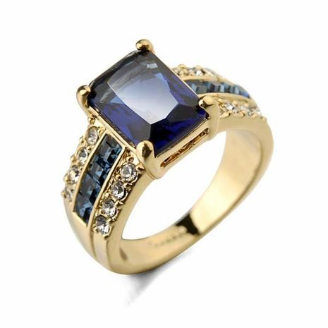 Nihaojewelry New Jewelry Retro Fashion Business Two-tone Men's Ring Wholesale NHJJ199357's discount tags