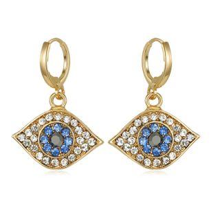 Joyería de moda Diamante pequeño Diamante Pendientes Pendientes turcos Pendientes de aleación Pendientes NHGO199491's discount tags