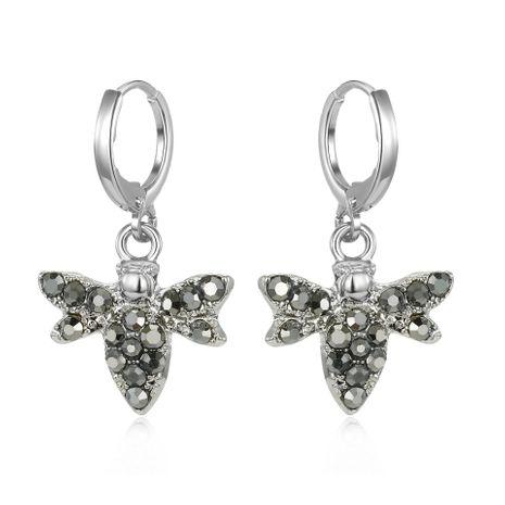 Mode Petite Diamond Bee Boucles d'oreilles Personnalisé Animal Boucles D'oreilles Alliage Boucles D'oreilles NHGO199492's discount tags