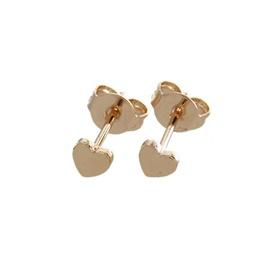 Nihaojewelry New Fashion Copper Plating Heart Shaped Light Stud Earrings NHBP199537