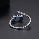 Ring Fashion Korean Simple Lady Bow Opening Adjustable Ring Jewelry Gift Trendy NHTM199573