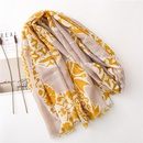 Scarf women39s thin cotton and linen feel small flowers wild shawl wholesale scarf NHGD199187