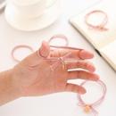 Nihaojewelry Cartoon girl heart hair circle simple tie hair rubber band head rope wild hair accessories NHZE199241