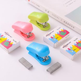 Mini Stapler Student Small Stapler Stapler Office Stationery Supplies NHZE199261's discount tags