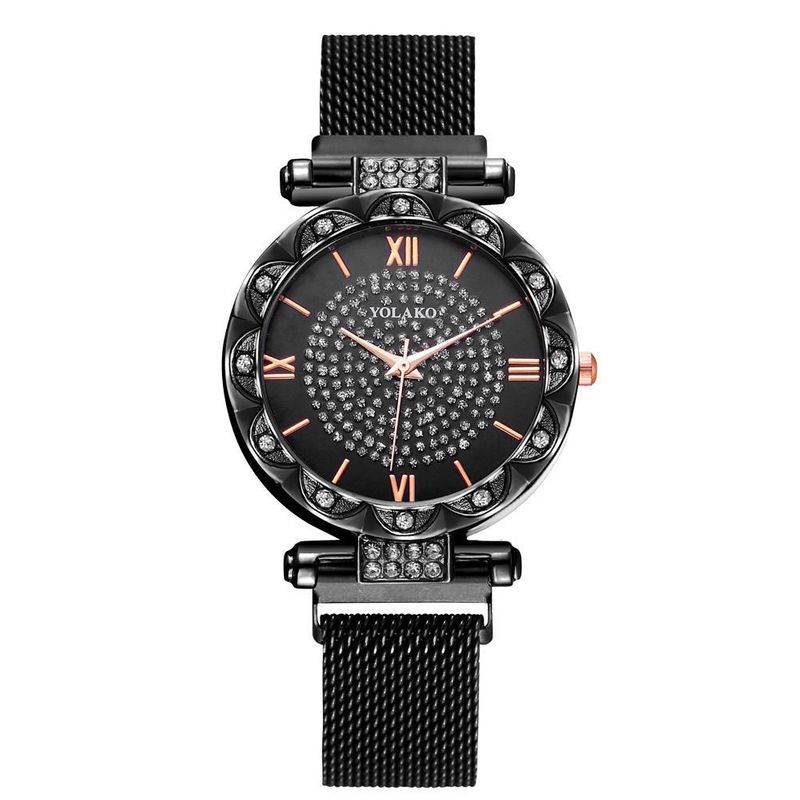 Milan Women's Fashion Watch with Magnet Watch NHSY199306