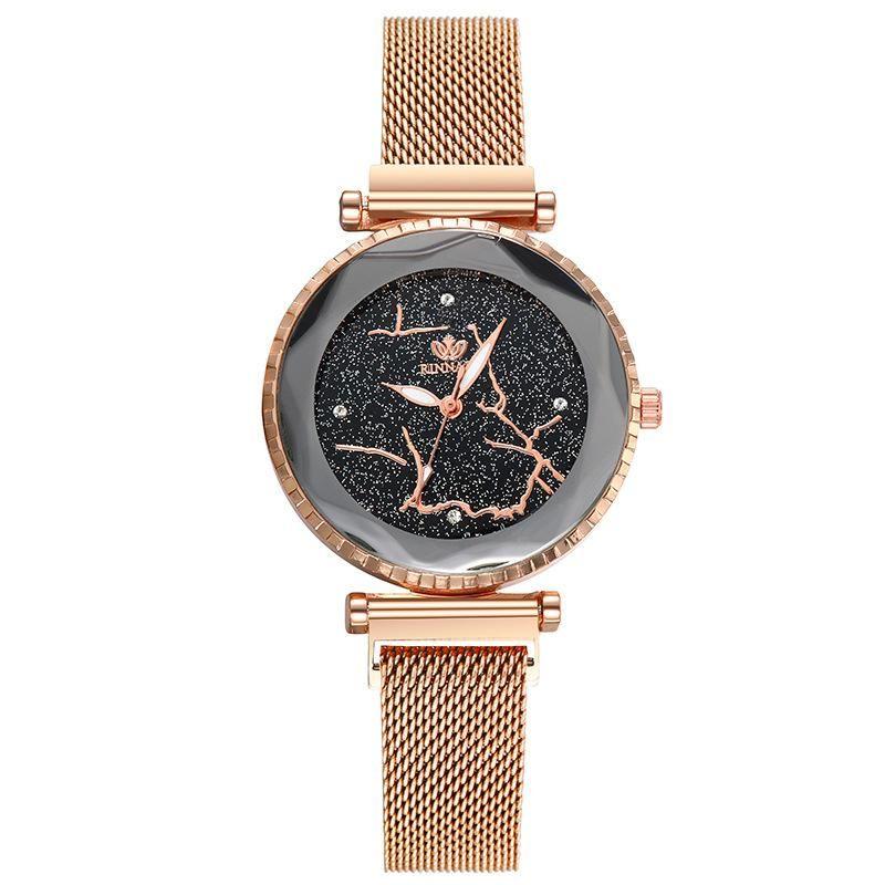 Fashion magnetite watch with diamonds and diamonds NHSY199307