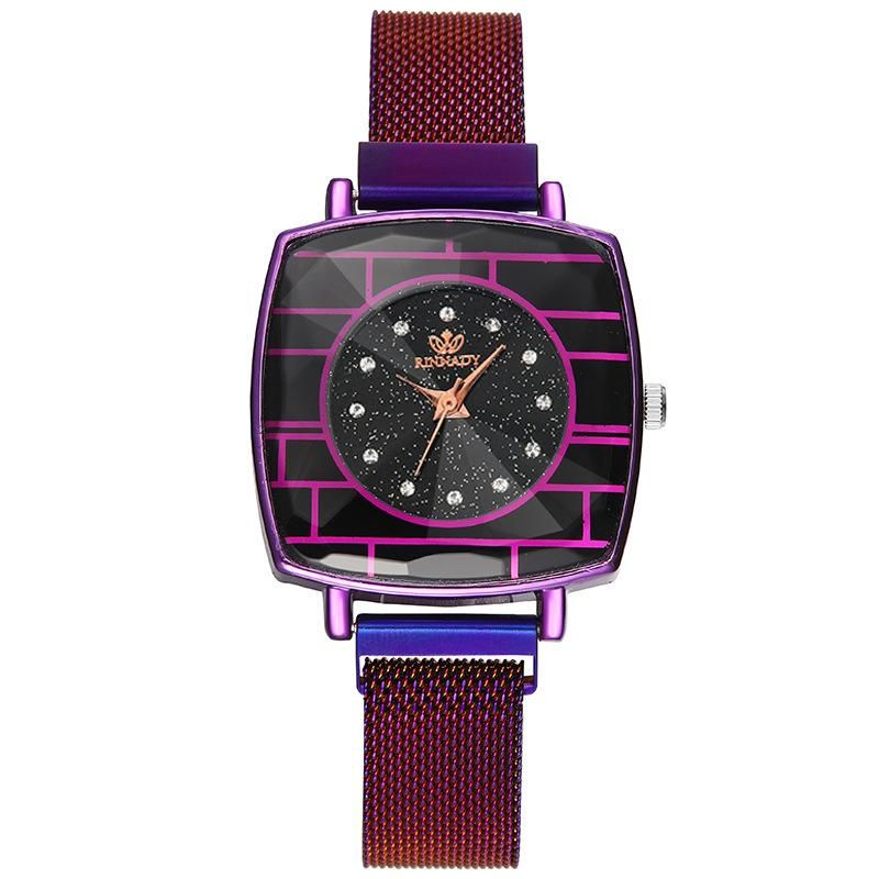 Fashion starry sky  watch magnet iron Milan watch NHSY199311