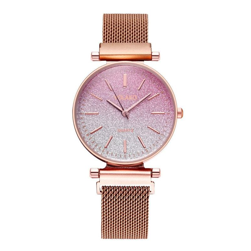 Magnet Milan Band Women's Watch Fashion Gradient Quartz Bracelet Watch Gypsophila Watch NHSY199312