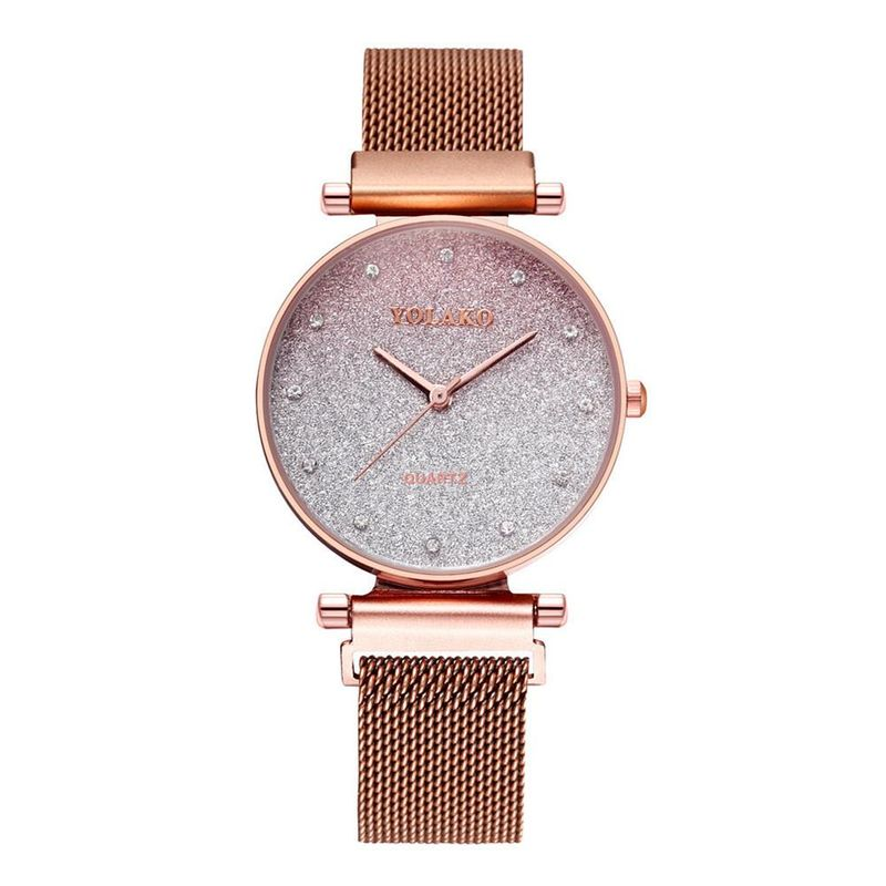 Womens Watch with Diamond Magnet Milan Fashion Star Gradient Quartz Bracelet Watch NHSY199314