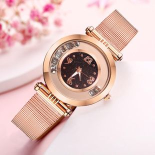 Fashion personalized ball atmosphere diamond sparkling quartz ladies fashion watch NHSY199322's discount tags