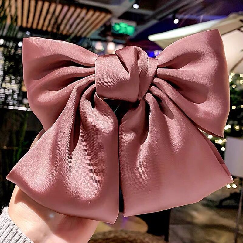 Fashion Big Bow Hair Accessories Hair Clips Spring Clips Hair Clips NHSC199641