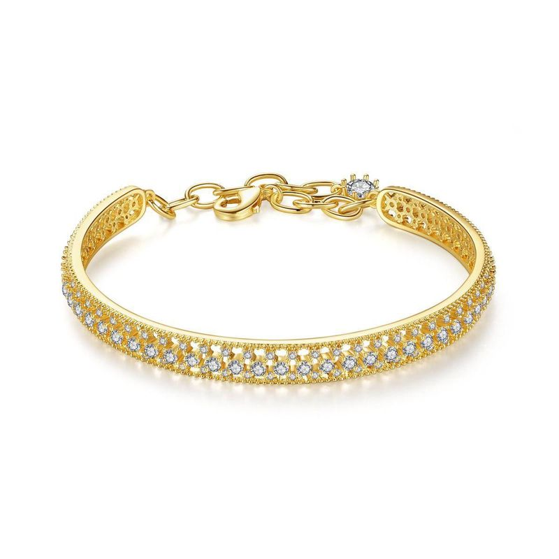 wholesale lock heart bracelet fashion wild personality popular simple female bracelet NHTM199580