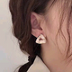 Korean fashion sweet OL simple oil earrings wholesale NHSC204341
