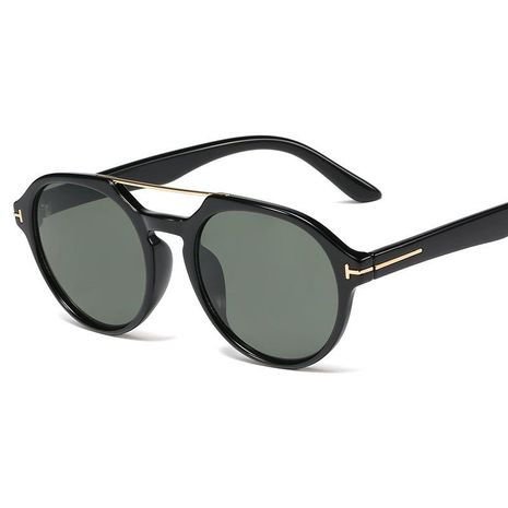 New fashion classic retro round frame sunglasses sunglasses wholesale NHFY203895's discount tags