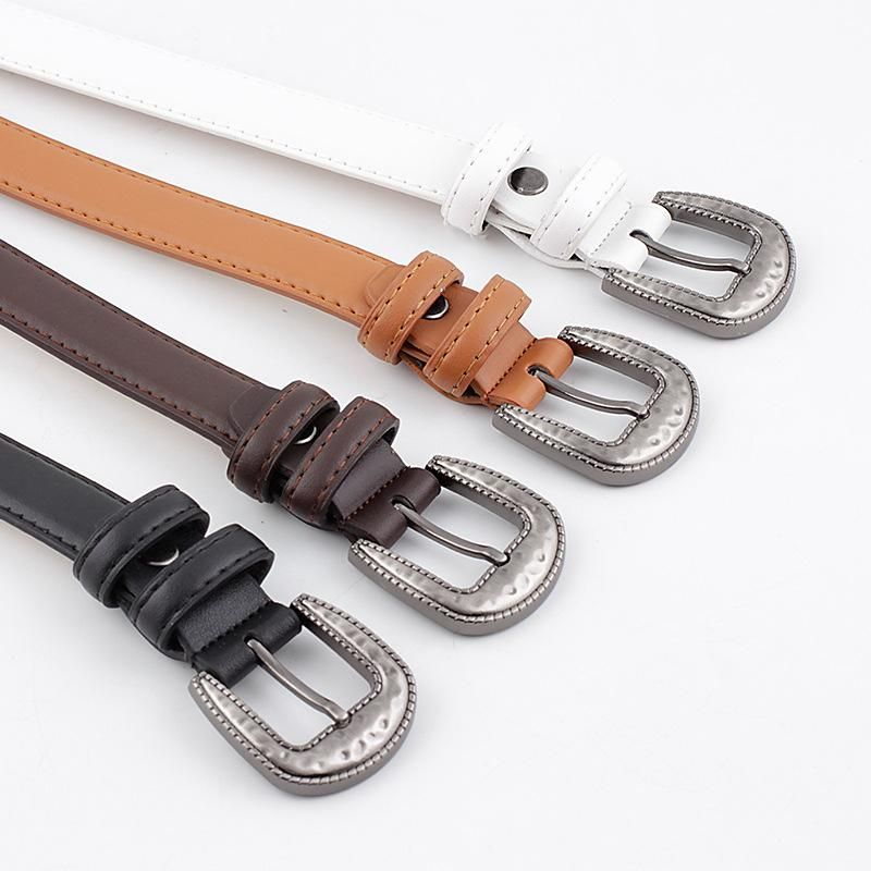 New fashion pin buckle belt retro casual women's belt wholesale NHPO203967